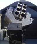 SuperWASP telescope,located on the island of La Palma amongst the Isaac Newton Group of telescopes(ING)
