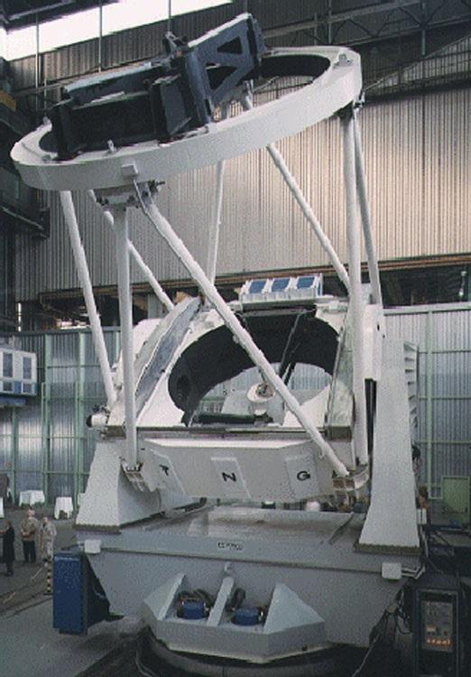 Telescopio Nazionale Galileo Interior