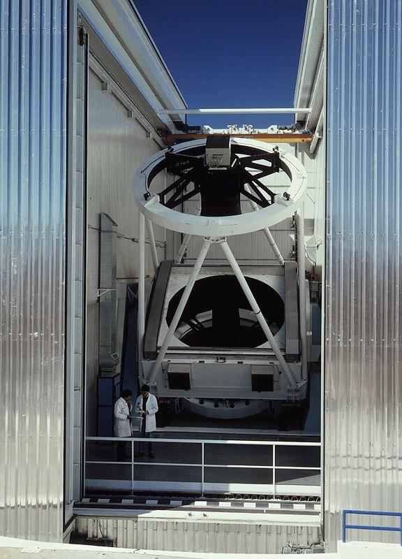 ESO NTT Interior