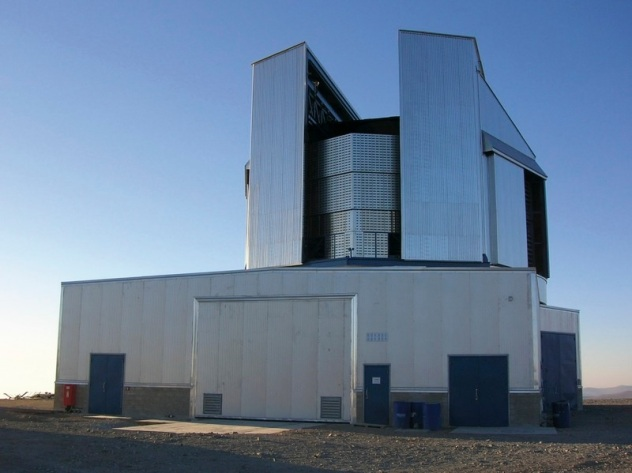 ESO/Vista Telescope  at Cerro Paranal, with an elevation of 2,635 metres (8,645 ft) above sea level