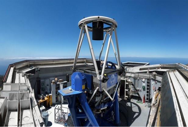 2-metre Liverpool Telescope at La Palma in the Canary Islands
