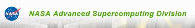 NASA Advanced Supercomputing Division header