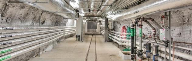Sanford Underground Research Facility Interior