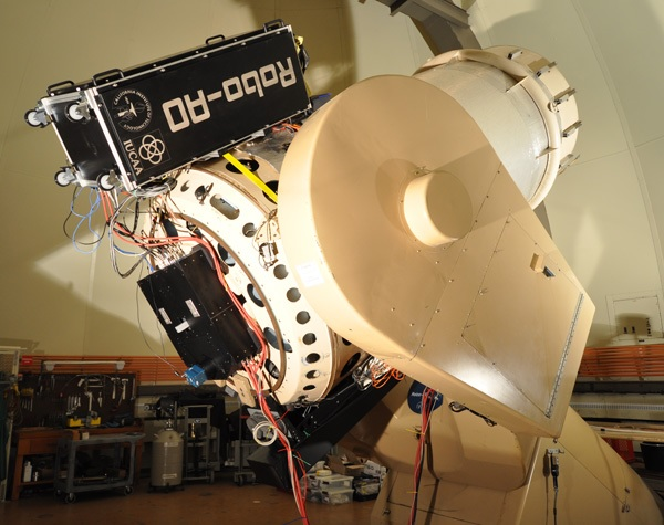Caltech Palomar Robo-AO on P60 telescope