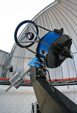 ESO Belgian robotic Trappist National Telescope at Cerro La Silla, Chile interior