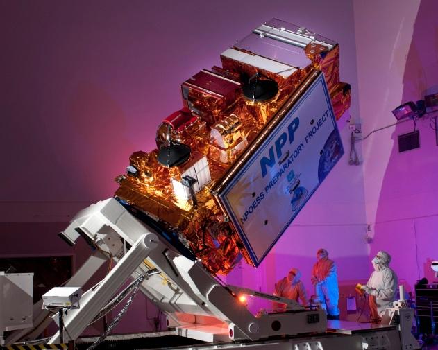 NASA Suomi NPP satellite