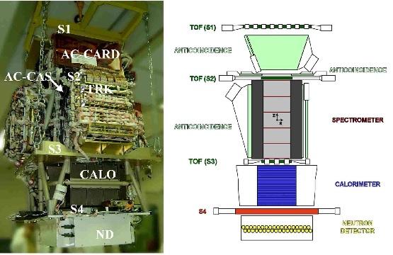 PAMELA Cosmic Ray Detector