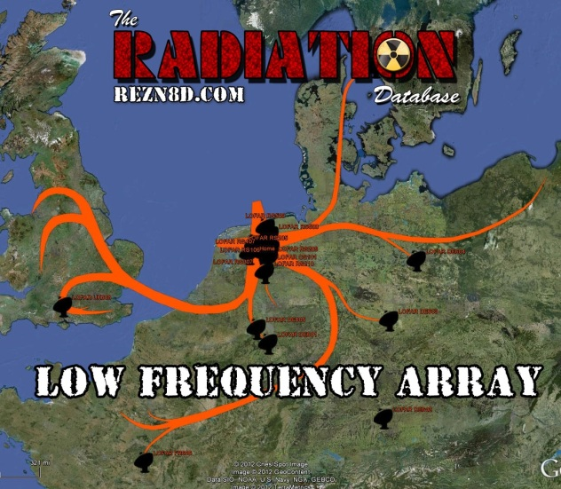 ASTRON LOFAR Map