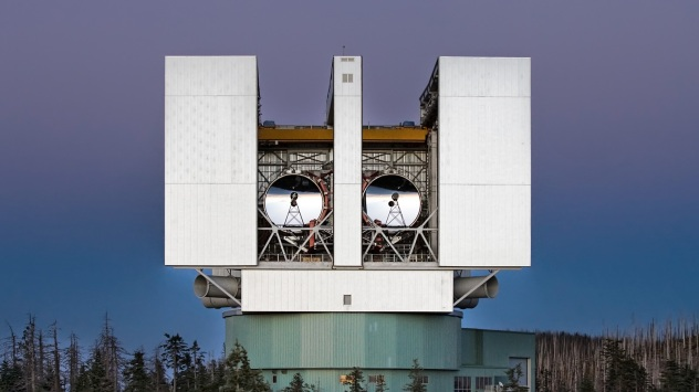 U Arizona Large Binocular Telescope,  Mount Graham,  Arizona, USA