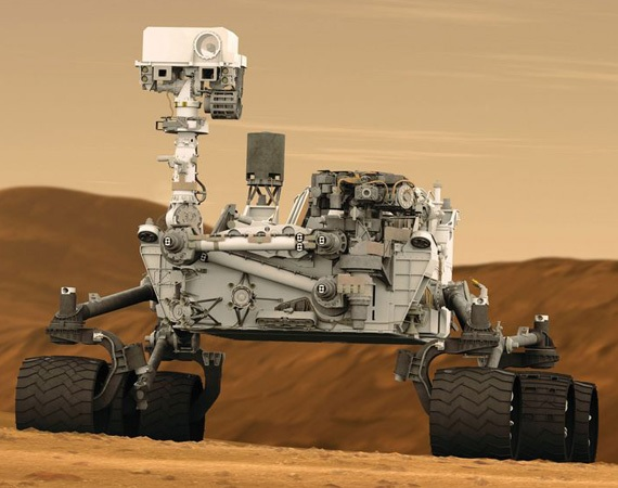 NASA/Mars Curiosity Rover