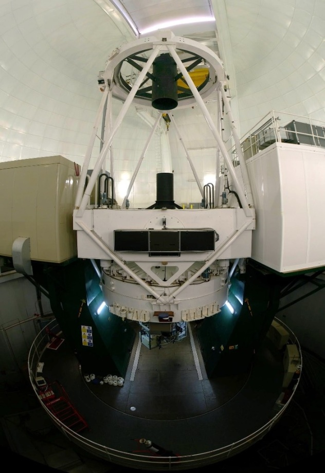 ING William Herschel Telescope Interior