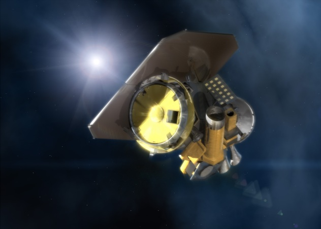 NASA Deep Impact spacecraft