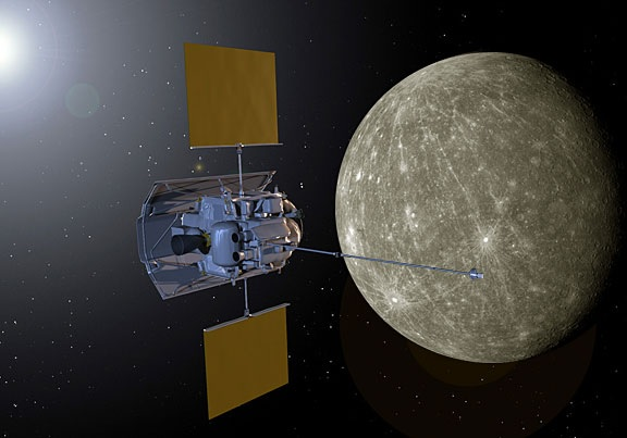 NASA Messenger satellite