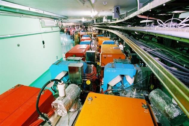 BEPII Beijing Electron Positron Collider interior