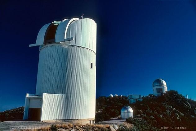 Bok Telescope U Arizona Stewrad Observatory