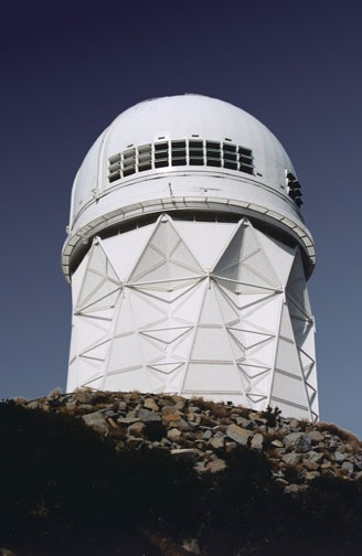 NOAO/Mayall 4 m telescope at Kitt Peak, Arizona, USA