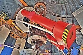 Bernard Lyot telescope interior