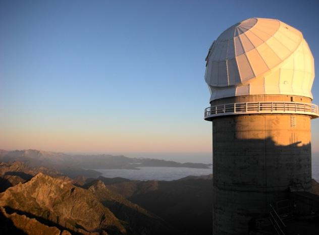 Bernard Lyot telescope
