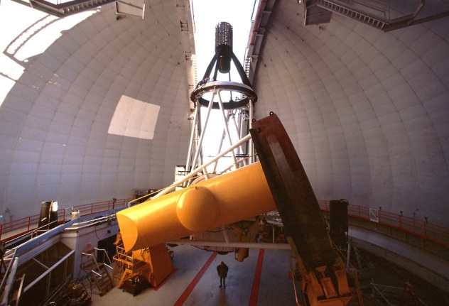 Canada France Hawaii Telescope Interior