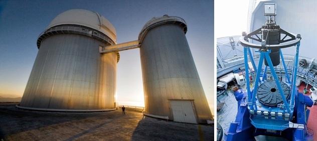 ESO 3.6m telescope & HARPS at LaSilla