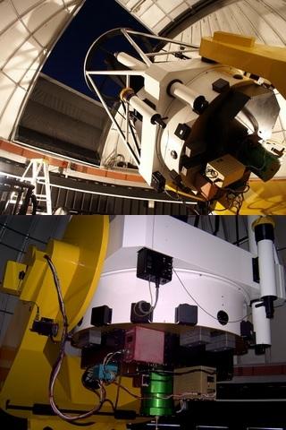 OGLE Warsaw telescope interior