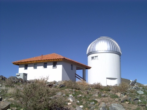 1.3 meter OGLE Warsaw Telescope at the Las Campanas Observatory in Chile