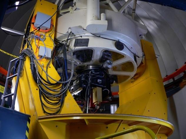 U Arizona Steward Observatory Vatican Advanced Technology Telescope Interior