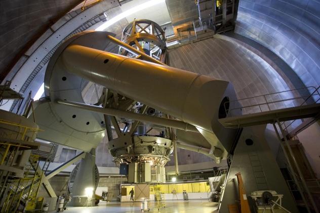 Caltech Palomar Observatory interior