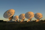 CSIRO Australia Compact Array, at the Paul Wild Observatory, is an array of six 22-m antennas located about 25 km west of the town of Narrabri in rural NSW (about 500 km north-west ofSydney)