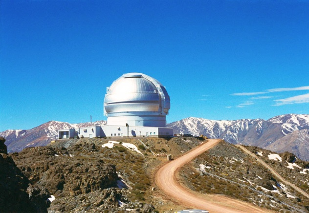 Gemini South telescope