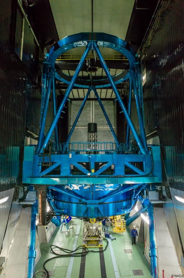 NAOJ Subaru Telescope interior