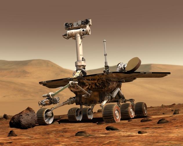 NASA/Mars Spirit Rover