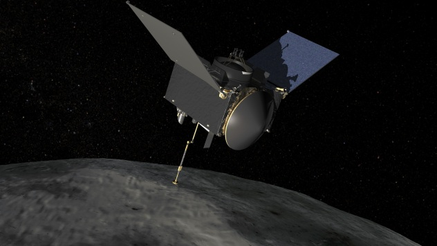 NASA OSIRIS-REx Spacecraft