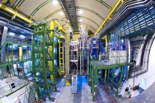 CERN LHCb chamber