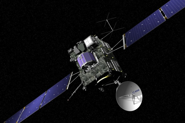 ESA/Rosetta spacecraft