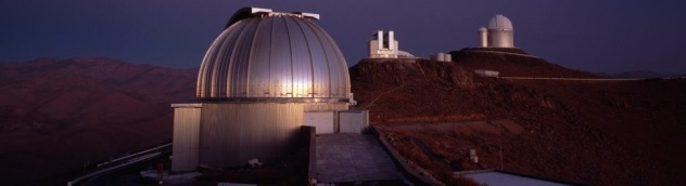 MPG/ESO 2.2 meter telescope at La Silla, Chile
