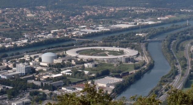 ESRF. Grenoble, France