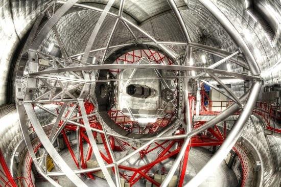Great Canary Telescope Interior