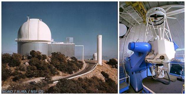 NOAO Kitt Peak 2.1 meter telescope