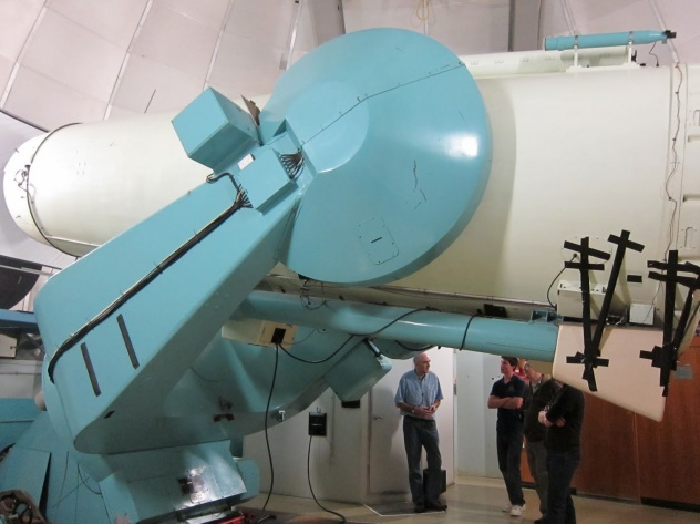 AAO UK Schmidt Telescope Interior