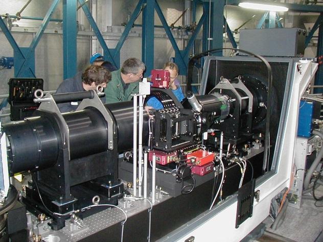 ESO VLT GIRAFFE spectrograph