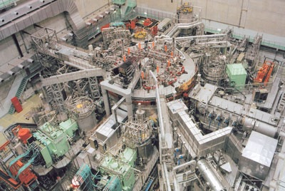 LHD Large Helical Device stellarator