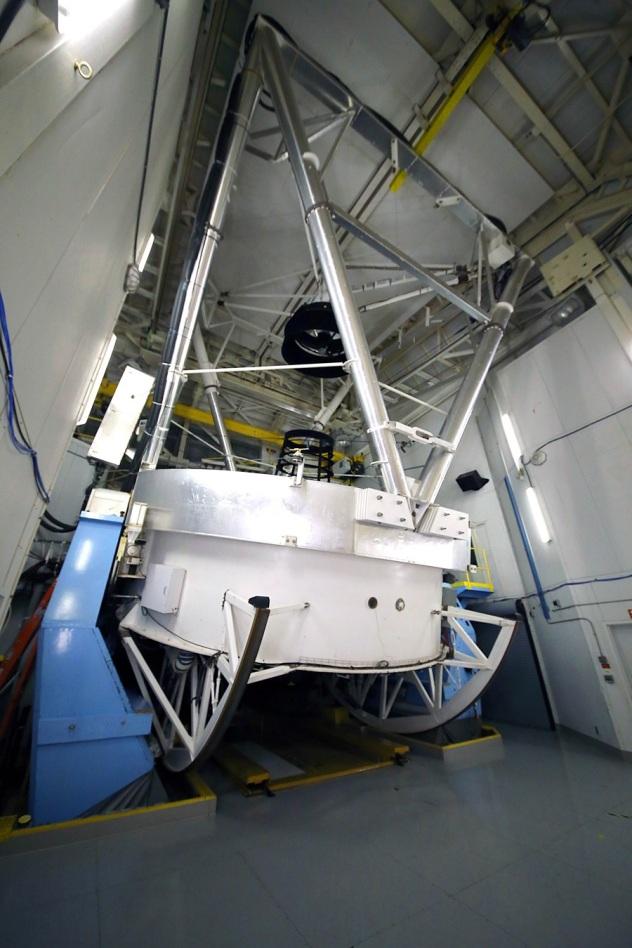 MMT Telescope interior