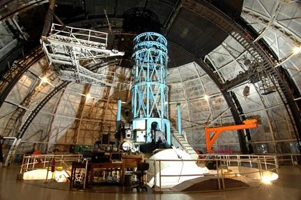 Mt Wilson 100 inch Hooker Telescope Interior