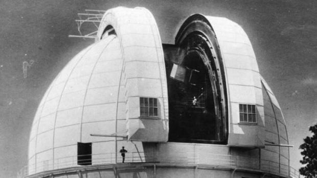 Mt Wilson 100 inch Hooker Telescope
