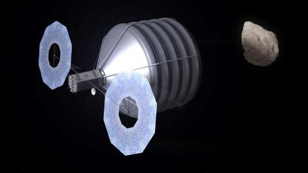 NASA ARM Asteroid Redirect Mission satellite