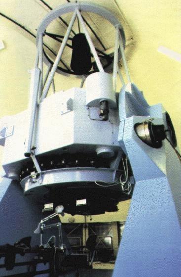 Nordic Optical telescope interior