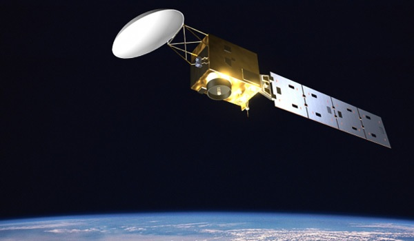 ESA EarthCARE satellite