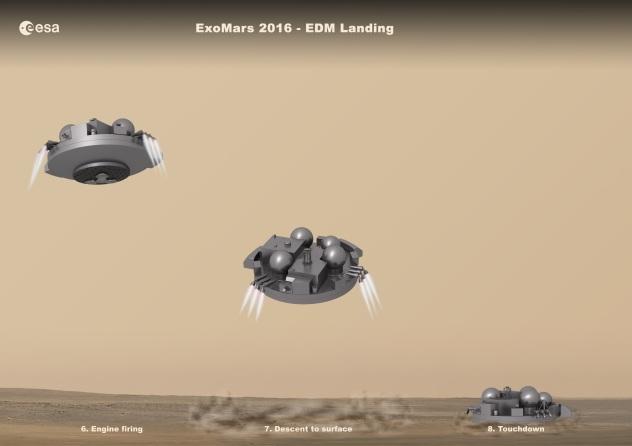 ESA/ExoMars Schiaparelli module