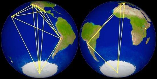 Event Horizon Telescope map